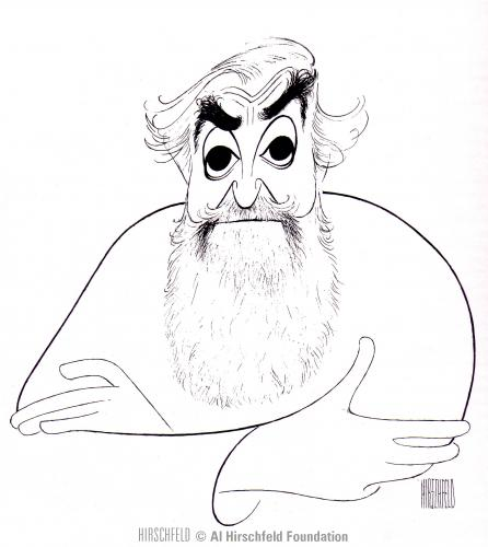 [Al Hirschfeld Photo]